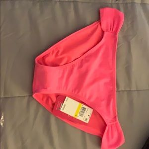 Hot pink swim bottoms never worn